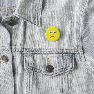 Badge Emoji effrayé par OMG