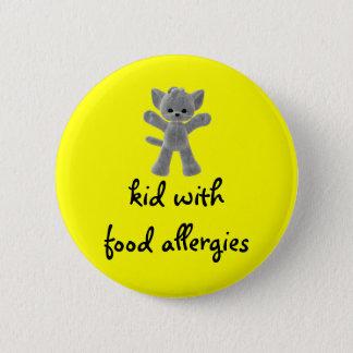 Badge Enfant avec des allergies alimentaires