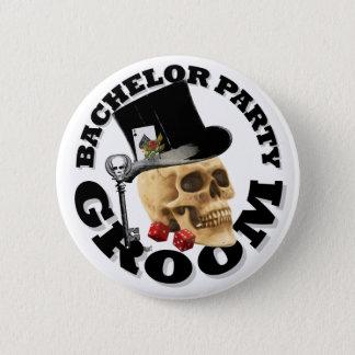 Badge Enterrement de vie de jeune garçon de jeu gothique