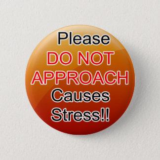 Badge Entretenez la gelée d'orange d'aides de chien