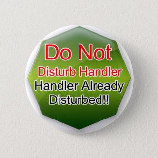 Badge Entretenez la gelée verte d'aides de chien