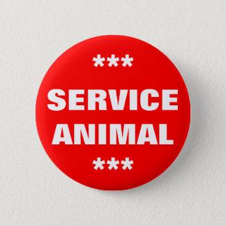 Badge Entretenez l'étiquette animale