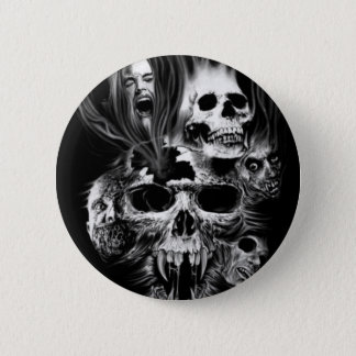 Badge Epouvante d'Halloween -
