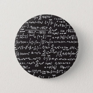 Badge Équations de maths de tableau noir
