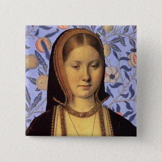 Badge Équipe Aragon - la Reine Catherine de portrait