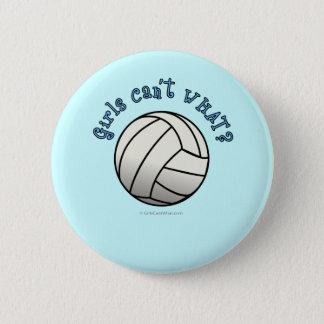 Badge Équipe blanche de volleyball
