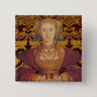 Badge Équipe Cleves - portrait de la Reine Anne de