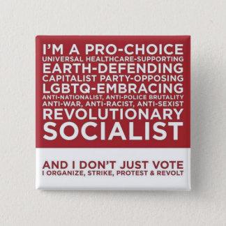 Badge Et je ne vote pas simplement