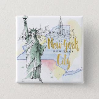 Badge État de statue de New York | de la liberté