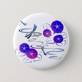 Badge Été dans le style mignon et classique du Japon -