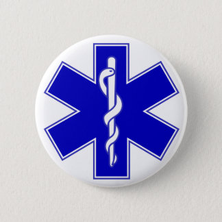 Badge Étoile de Pin de médecin de la vie