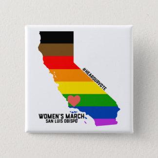 Badge Événement de mars SLO janvier des femmes