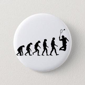 Badge Évolution de badminton