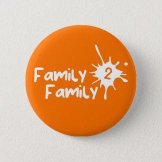 Badge Family2Family orange