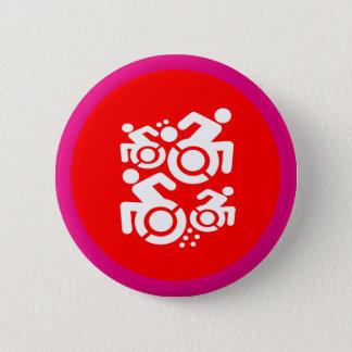 Badge Fauteuil roulant comme art