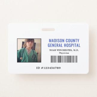 Badge Feignez l'insigne de docteur ID de jeu