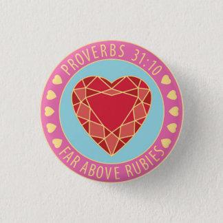 Badge Femme vertueuse des proverbes 31 loin au-dessus de