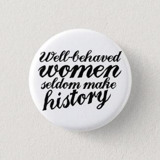 Badge Femmes bien comportées