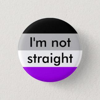 Badge fierté asexuelle je ne suis pas goupille droite