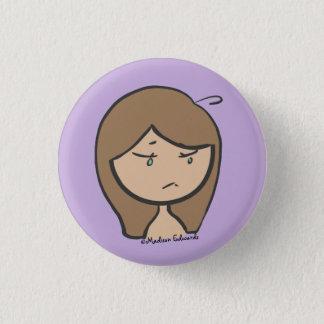 Badge Fille Emoji - UGH bouton