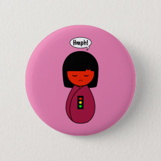 Badge Fille Hmph de Kokeshi !