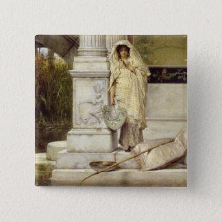 Badge Fille romaine d'Alma-Tadema | Fisher, 1873