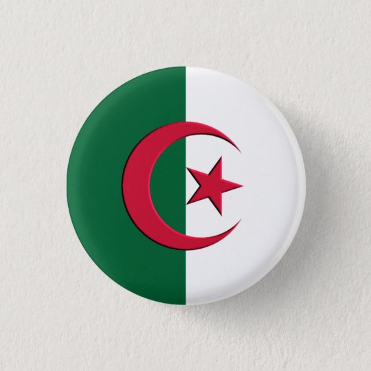badge Flag Algeria