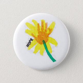 Badge Fleur d'espoir
