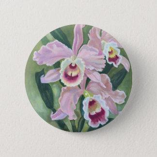 Badge Fleur d'orchidée