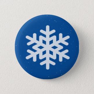 Badge flocon de neige