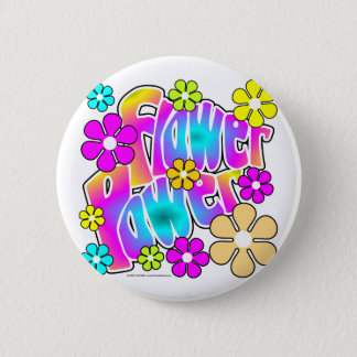 Badge Flower power