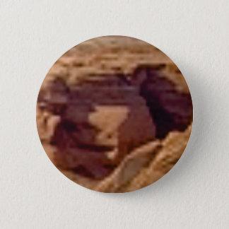 Badge formation de roche rouge