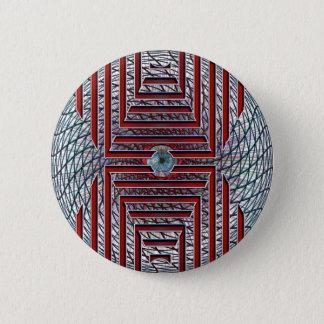 Badge Forme de Ronund Geomtric avec l'oeil