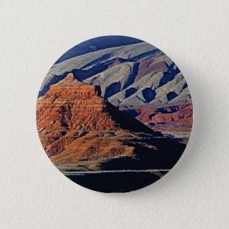 Badge formes naturelles du désert