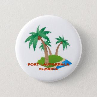 Badge Fort Lauderdale la Floride, bouton tropical de