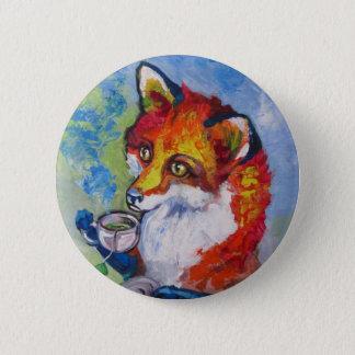 Badge Fox de thé