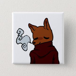 Badge Fox froid (bouton carré de 2 pouces)