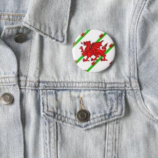 Badge Gallois barre le drapeau