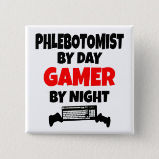 Badge Gamer Phlebotomist