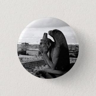 Badge Gargouille de goupille gothique de bouton de Notre