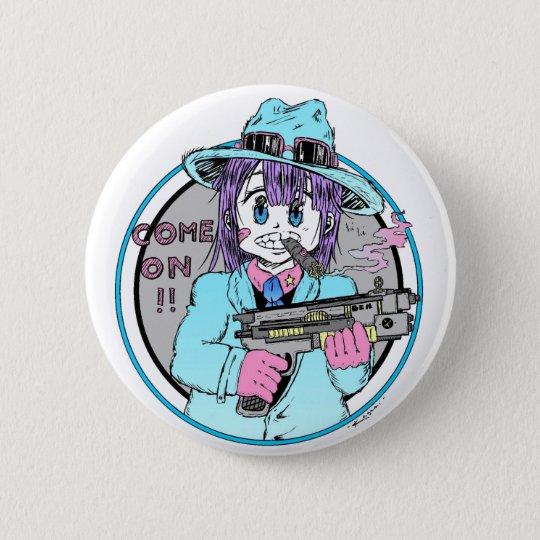 Badge Geek manga gun girl