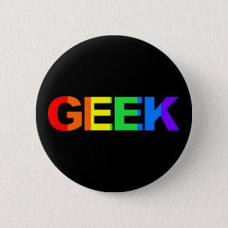 Badge Geeky et pédé As