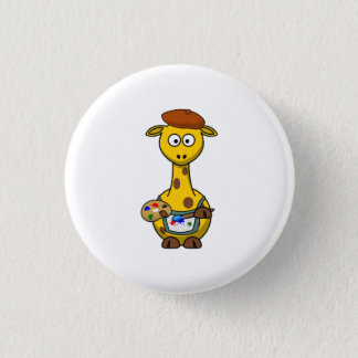 Badge Girafe d'artiste