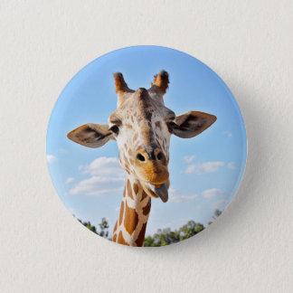 Badge Girafe idiote