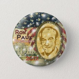 Badge Goupille 2012 de Ron Paul