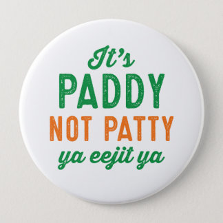 Badge Goupille de jour de Patty St Patrick de paddy pas