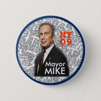 Badge Goupille de maire MIKE de 2009 NY