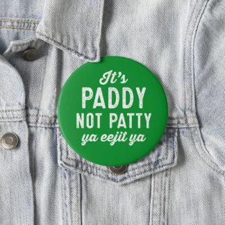 Badge Goupille du jour de St Patrick