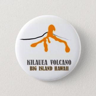 Badge Grand bouton de drogué de lave d'île