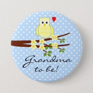 Badge Grand-maman de hibou à être